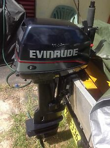 Evinrude 97 long shaft 8hp Westmead Parramatta Area Preview