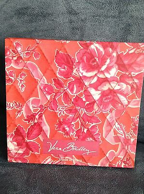 Vera Bradley Hope Toile Paper Mini Pocket Notepad 60 Pages - Limited Edition