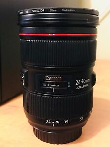 Canon 24-70mm f2.8 L USM II Mint condition