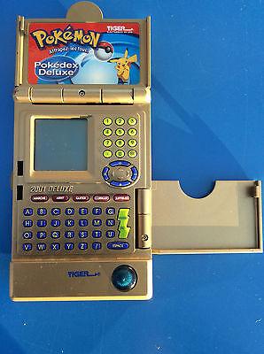 Spiel Elektronisch Pokemon Pokédex Deluxe Gold Ausgabe Tiger 2001 Go Clear Karte (Elektronische Pokemon Pokedex)