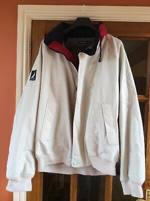 Mens Ivory Nautica Leisure/Walking Jacket XXL with fold out hood