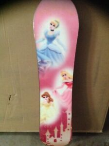 New Disney made by burton kids snowboard 39 inches long