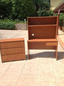 Everett worthington desk and drawers Sandy Point Bankstown Area Preview