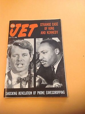 Jet Magazine July 10 1969 RFK and Martin Luther King Jr cover in very nice con