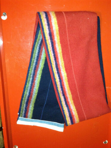Gourd Dance Blanket - old trade cloth- red / blue