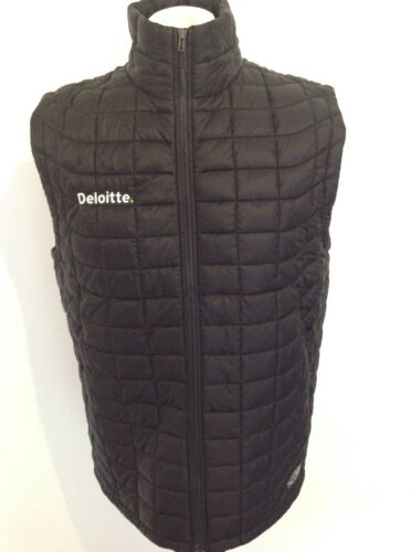 *NEW( THE NORTH FACE THERMOBALL *DELOITTE* GILET MEDIUM