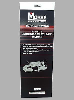 MK Morse ZWEP3218W 32-7/8 in. x 18 tpi Bi-Metal Portable Band Saw Blade 3 pk ()