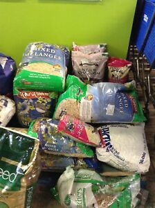 Bird seed.. Cat litter at the HFH restore.