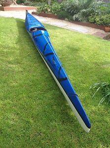Carbon / Kevlar kayak - Grafton paddlesports time traveller 575 Dynnyrne Hobart City Preview