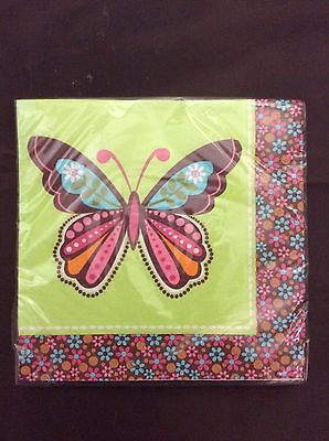Hippie Chick Party Supplies Lunch Napkins 16ct.