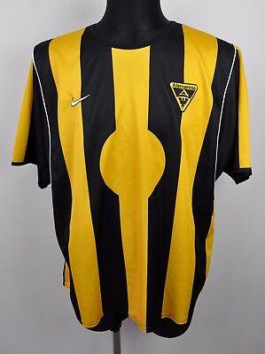 ALEMANNIA  AACHEN Vintage Away Jersey Men 2XL 2001 2002 Nike Yellow Shirt Trikot image