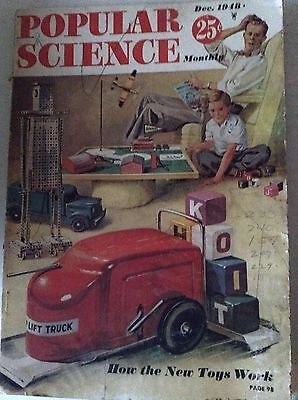 Popular Science Magazine How New Toys Work December 1948 081917nonrh