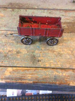 Vintage Arcade Cast Iron Toy Wagon #288