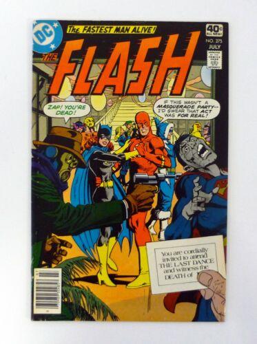 FLASH #275 DC Comics The Last Dance VF+ 1979