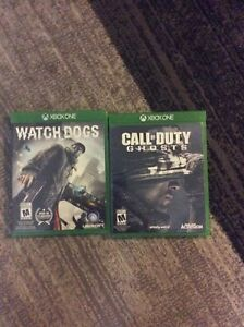 Call of duty ghosts and watch dogs