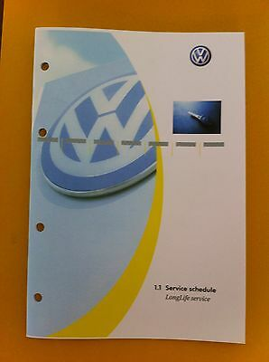 VW VOLKSWAGEN SERVICE BOOK ALL MODELS PETROL AND DIESEL PASSAT,GOLF NEW...