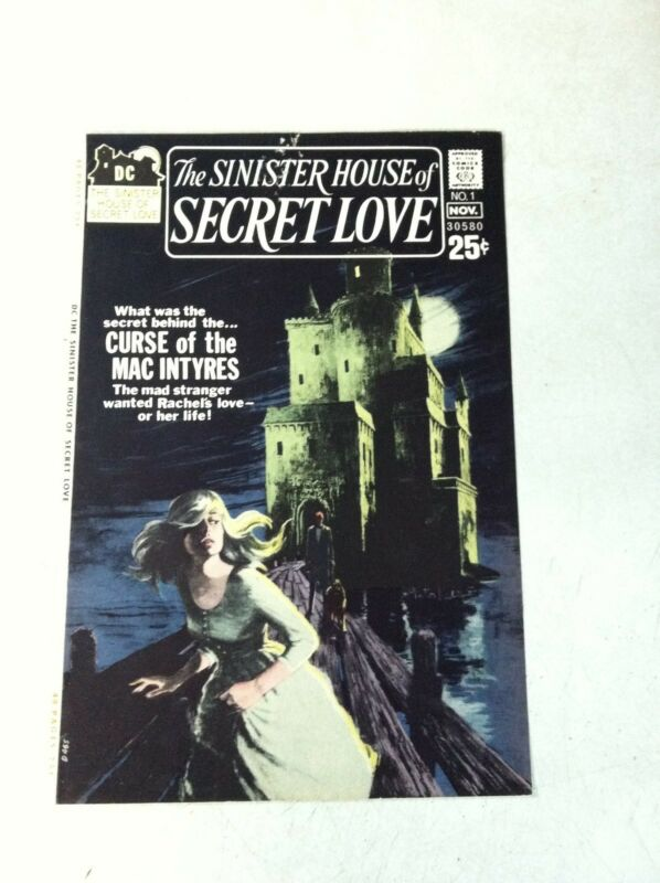 SINISTER HOUSE OF SECRET LOVE #1 COVER ART original approval cover proof 1971