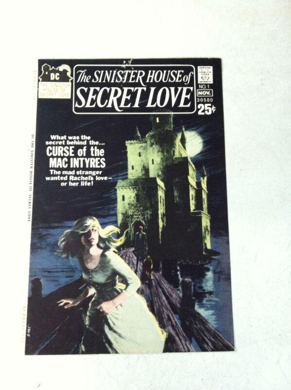 SINISTER HOUSE OF SECRET LOVE #1 COVER ART original approval cover proof 1971