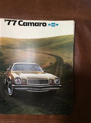 1977 Chevrolet Camaro Sales Brochure