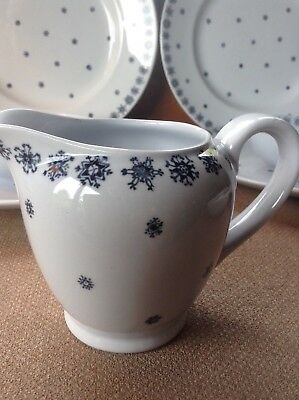 Arabia Finland Creamer Snowflake Pattern Made in Finland