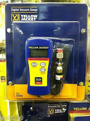 Yellow Jacket 69086 Digital Vacuum Gauge W Case