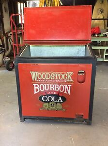 Retro Burbon drink cooler / collectors ice box / man cave The Gap Brisbane North West Preview