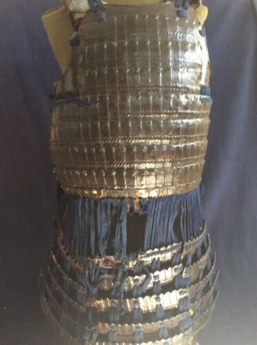 Antique Edo Period Samurai Yoroi Armor Cuirass Do/Dou