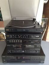 Stereo system - turntable, 5 x CD player, twin cassette and tuner Baulkham Hills The Hills District Preview