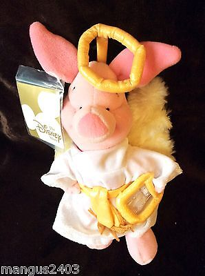 Angel Costume Store (DISNEY STORE COLLECTABLE PIGLET DRESSED IN ANGEL FUR WINGS COSTUME)