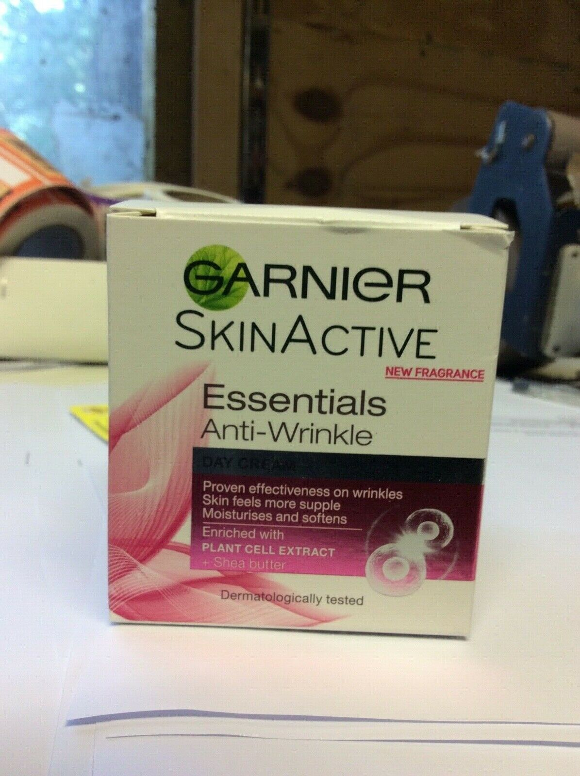 GARNIER SKIN ACTIVE  ESSENTIALS ANTI WRINKLE DAY CREAM 50ML