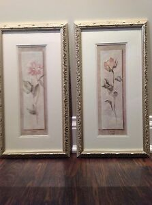 Framed Flower Prints