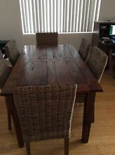 Dining Table & 6 chairs Cronulla Sutherland Area Preview