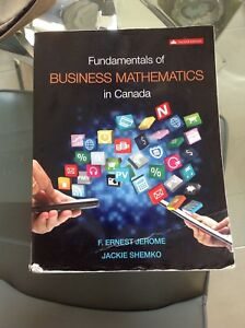 Fundamentals of Business Mathematics in Canada 2nd edition