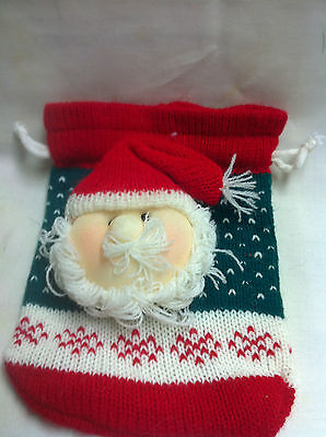 Santa Sack gift wrap- yarn