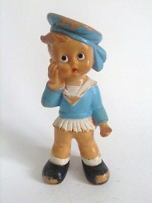 Figurine Pouet enfant marin ETAT CORRECT Squeeze Gomma Squeaky