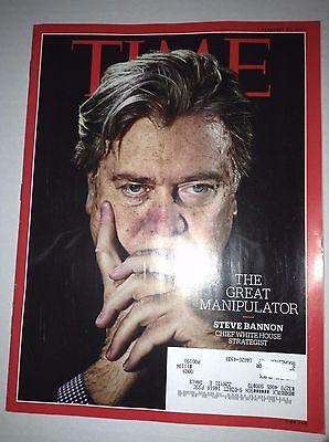 Time Magazine Steve Bannon Manipulator February 13  2017 033117Nonrh