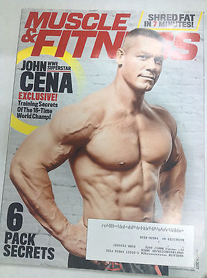 Muscle & Fitness Magazine John Cena 6 Pack Secrets March 2017 050417nonr](John Cena Muscle)