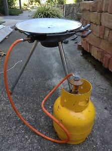 Portable BBQ and gas bottle Pearce Woden Valley Preview