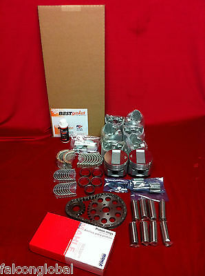Cadillac 346 Engine Kit Pistons+Bearings+Gaskets+Rings+Timing+Oil Pump 1937-48