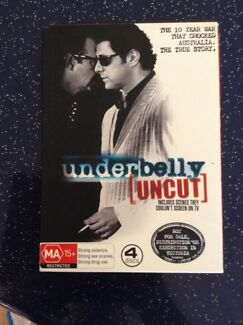 Under Belly uncut the first underbelly DVD TV series