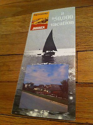 Vintage Ironshore Jamaica Montego Bay Tropical Paradise Travel Vacation Brochure