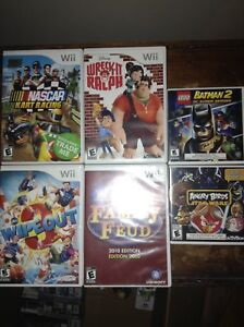 Wii, 3ds and DS Games