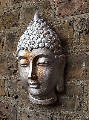 - Divine Buddhas Head Wall Plaque..Exclusive & Unique From The Designer Sius