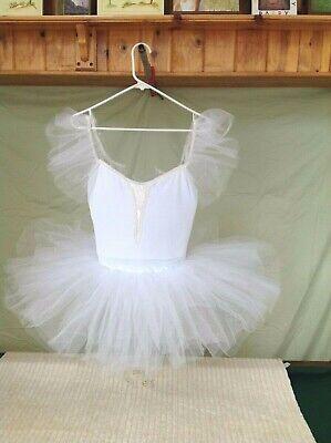 White Adult Tutus (White Adult Ballet Short Tutu)
