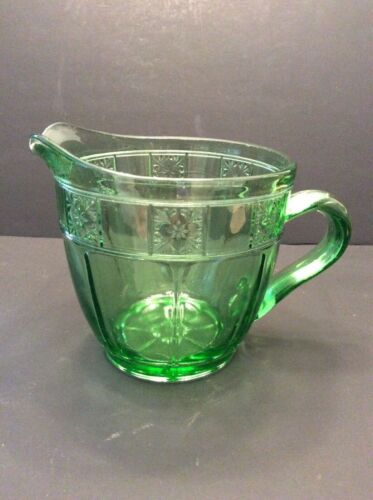 Doric - Depression Green - Pitcher Flat 5.5""
