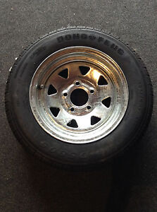 13-Spare-Wheel-Galvanised-New-Tyre-Rim-Suits-Boat-Box-and-Car-Trailer