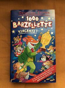 GERONIMO-STILTON-1000-BARZELLETTE-VINCENTI-Edizione-2002-PIEMME