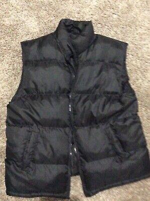 Black Bubble Vest (Sz. 3x) Mens Bubble Vest