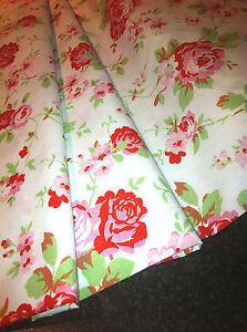 Cath Kidston ROSALI Fabric Material Rose IKEA 150 cm/by fat quarter or metre
