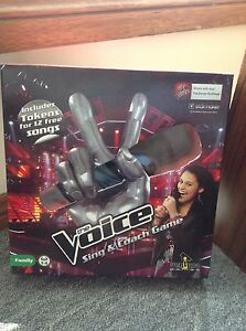 The Voice sing and coach game (pick up only) Jesmond Newcastle Area Preview